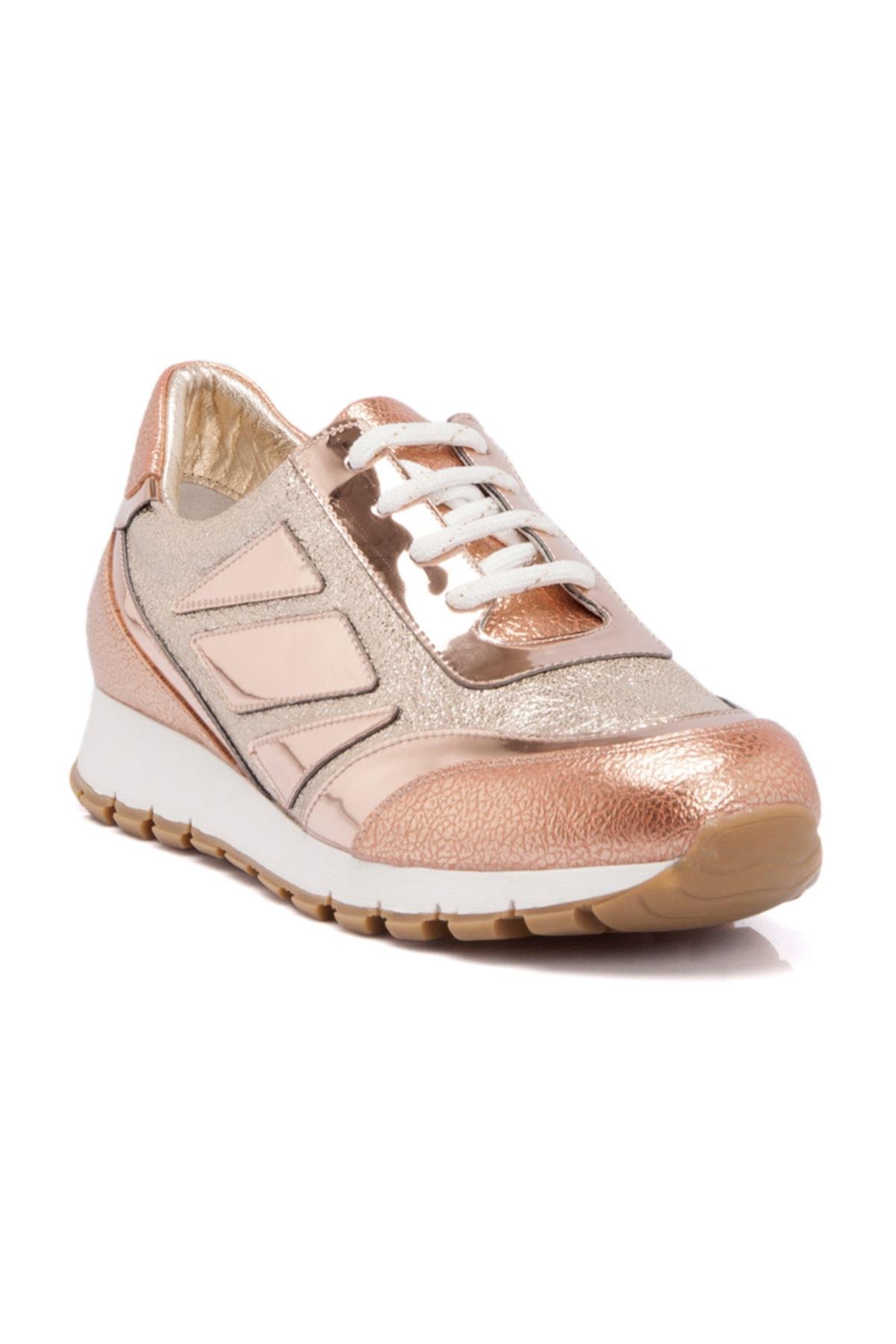 Tergan Hakiki Deri Somon Kadın Sneaker 1
