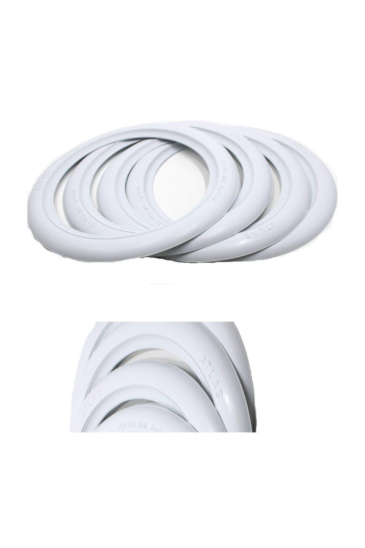 EMN Lüks Lastik Yanağı Beyaz 14 Jant (1 Takım 4 Adet) 1