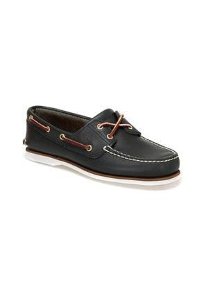 Timberland CLASSIC BOAT 2 EYE Lacivert Erkek Marin Ayakkabı 100575586