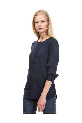Nautica Kadın Lacivert T-Shirt 73W215