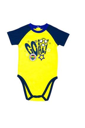 Fenerbahçe Sarı Bebek Body