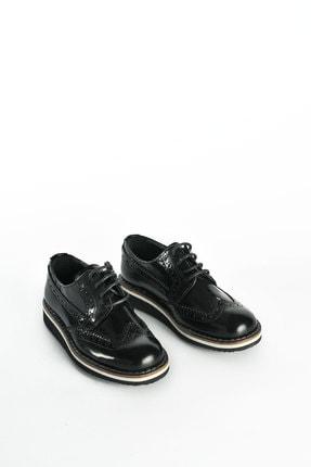 J Plus Baby Oxford Siyah Çocuk Ayakkabı