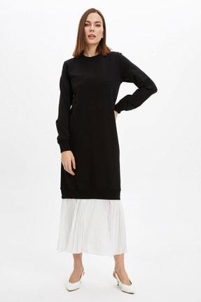 DeFacto Regular Fit Örme Elbise