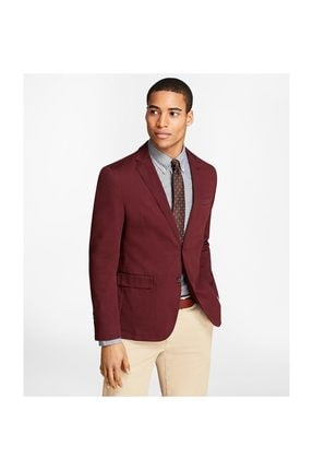 BROOKS BROTHERS Erkek Bordo Red Fleece Ceket 1-00089547