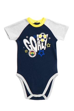 Fenerbahçe Lisanslı Lacivert Bebek Body