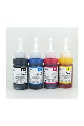 EPSON Premium®   L382 Uyumlu 4 Renk Kaliteli Mürekkep Seti