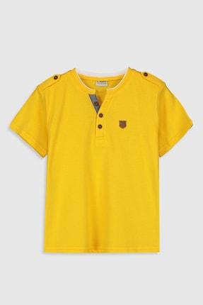 LC Waikiki Erkek Çocuk Orta Sarı G4L T-Shirt