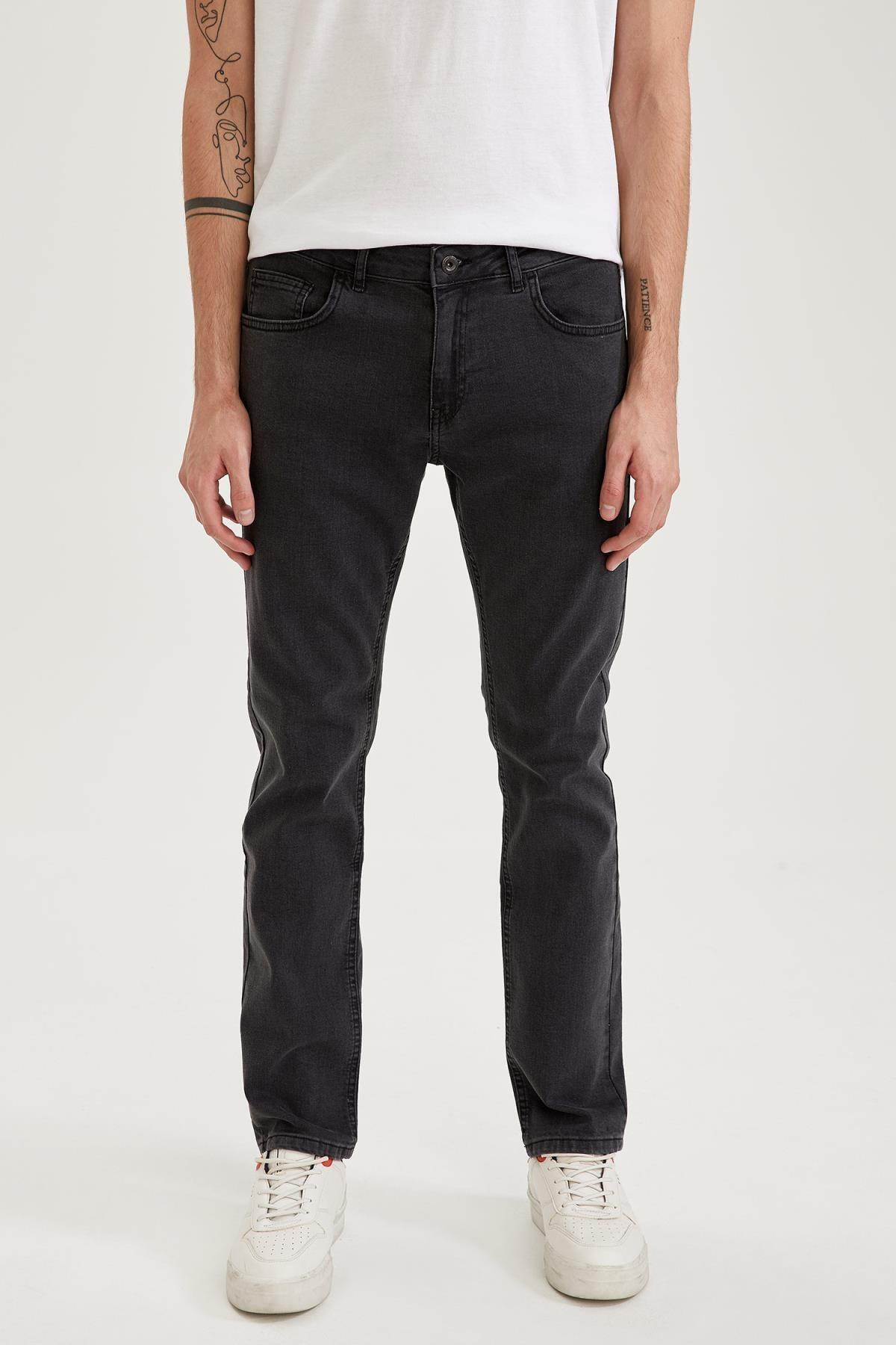 DeFacto Diago Comfort Fit Yüksek Bel Boru Paça Jean Pantolon