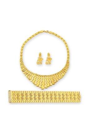 BİLEZİKHANE Nişan Set Kraliçe Model 92,53 Gram 22 Ayar Altın