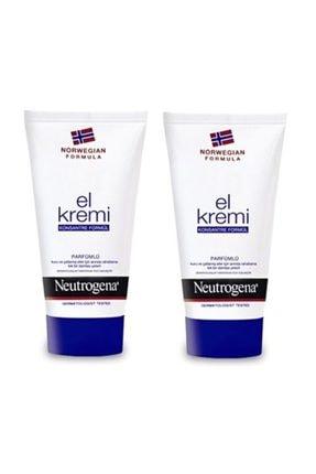 Neutrogena Parfümlü El Kremi 50 Ml  2adet