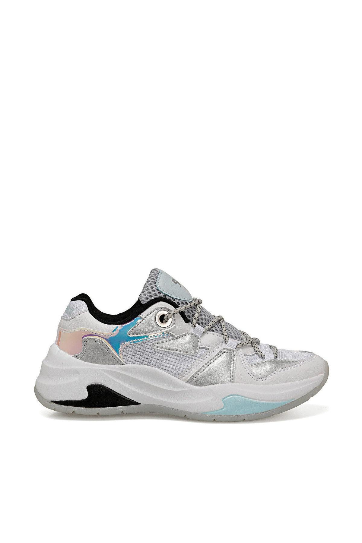 Nine West RANDOR BEYAZ GRI Kadın Kalın Taban Sneaker Spor Ayakkabı 100524815 1