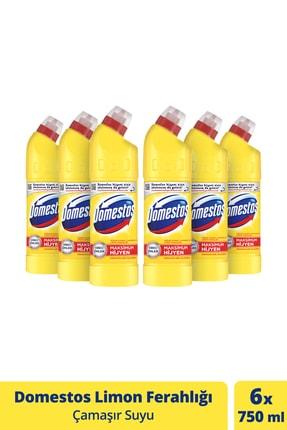 Domestos Çamaşır Suyu Limon Ferahlığı 750 ml - 6'lı Paket