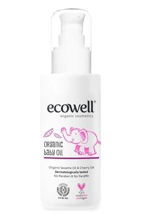 Ecowell Organik Bebe Yağı - 100 ml
