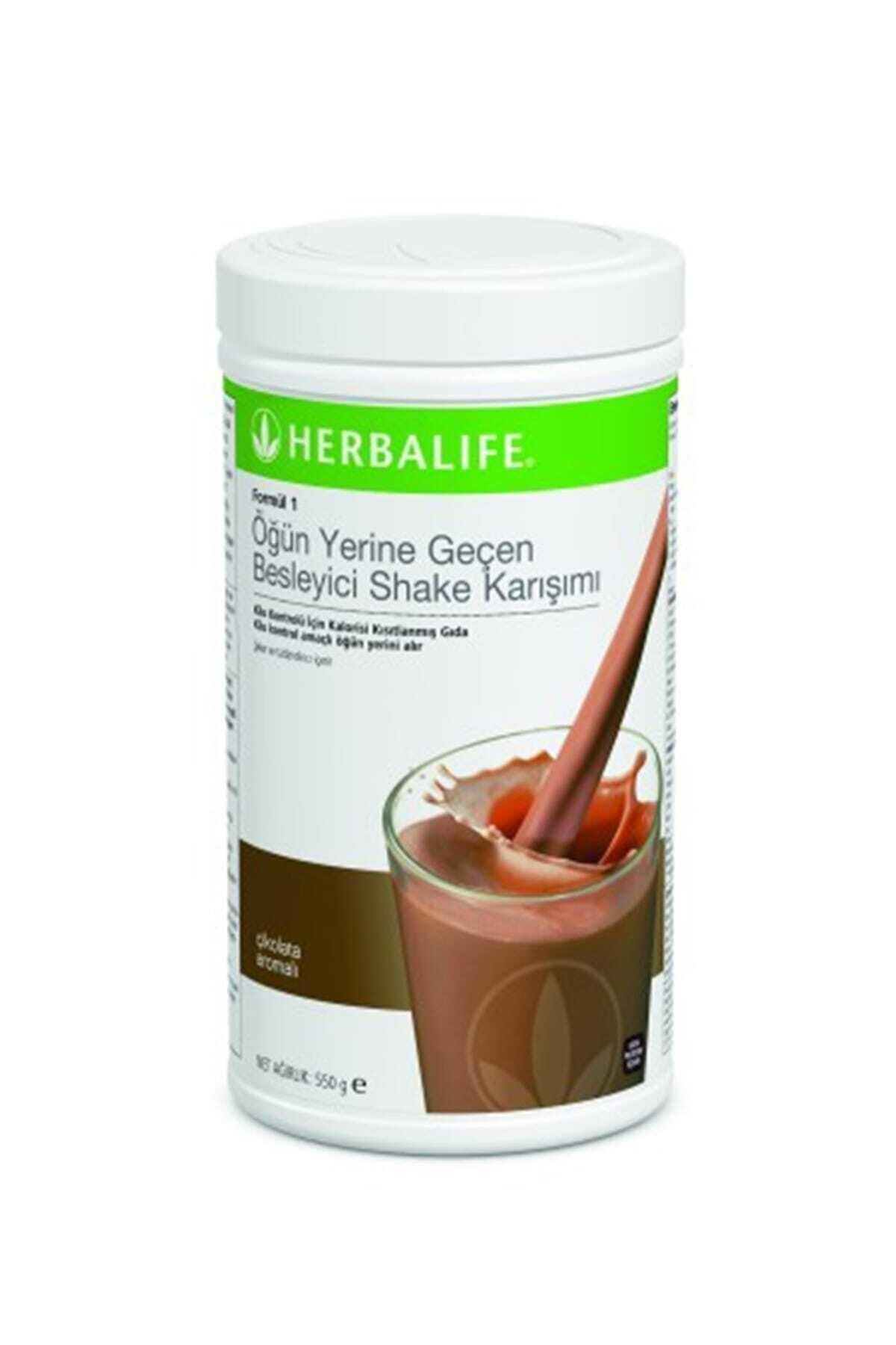 Herbalife Formül 1 Öğün Yerine Geçen Besleyici Çikolatalı Shake Karışımı 1