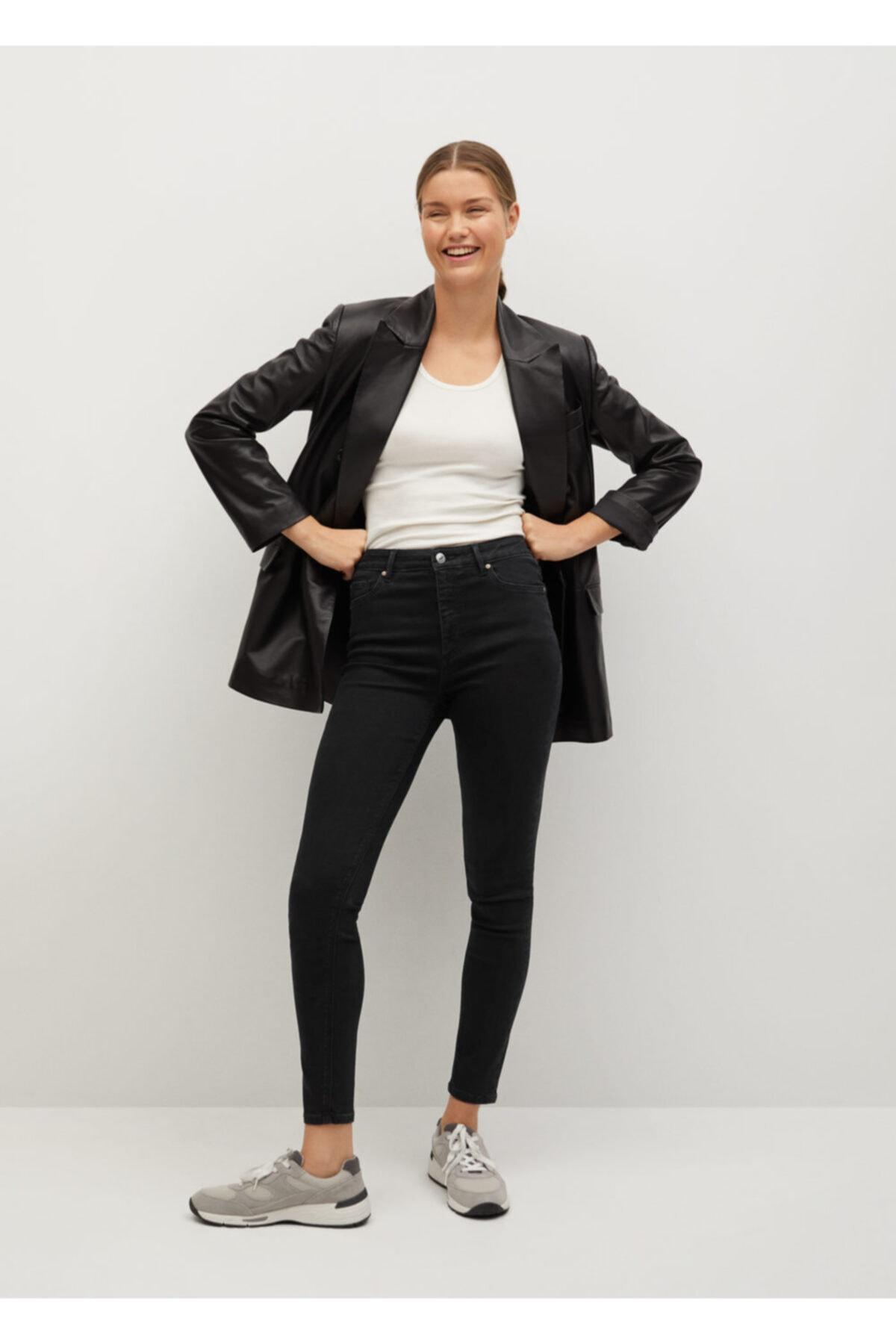 MANGO Woman Noa Yüksek Bel Skinny Jean Pantolon 2