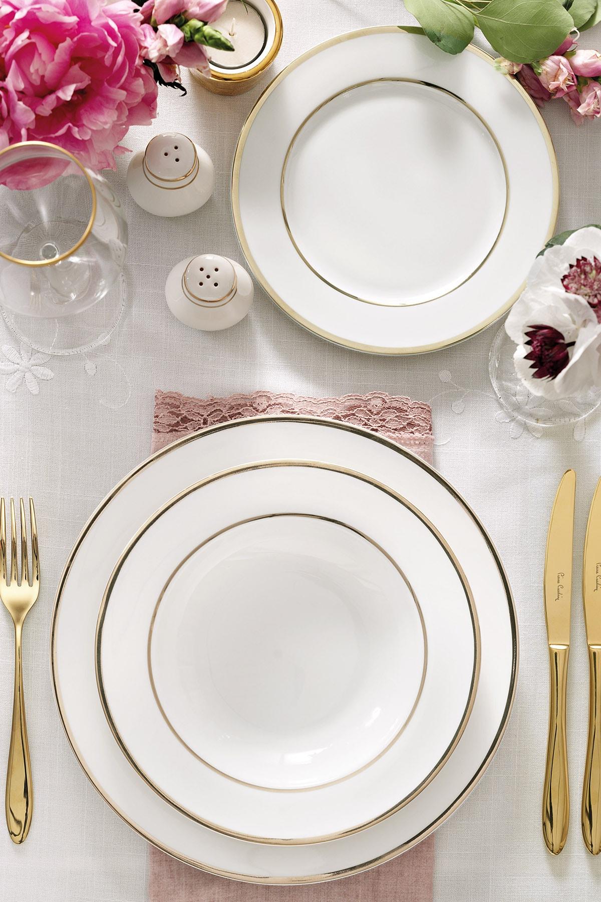 Pierre Cardin Ariana Gold 60 Parça Yemek Takımı
