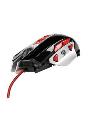 MF PRODUCT Kablolu Rgb Gaming Mouse Siyah-kırmızı 0121