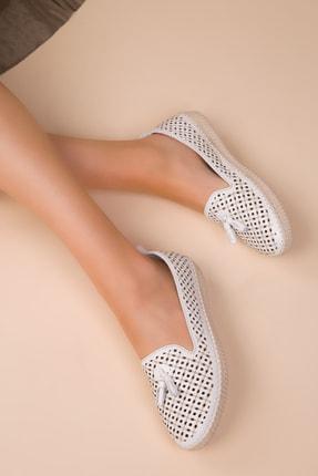 SOHO Beyaz Kadın Casual Ayakkabı 14846