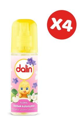 Dalin Bebek Kolonyası Floral 150 ml x 4 Adet