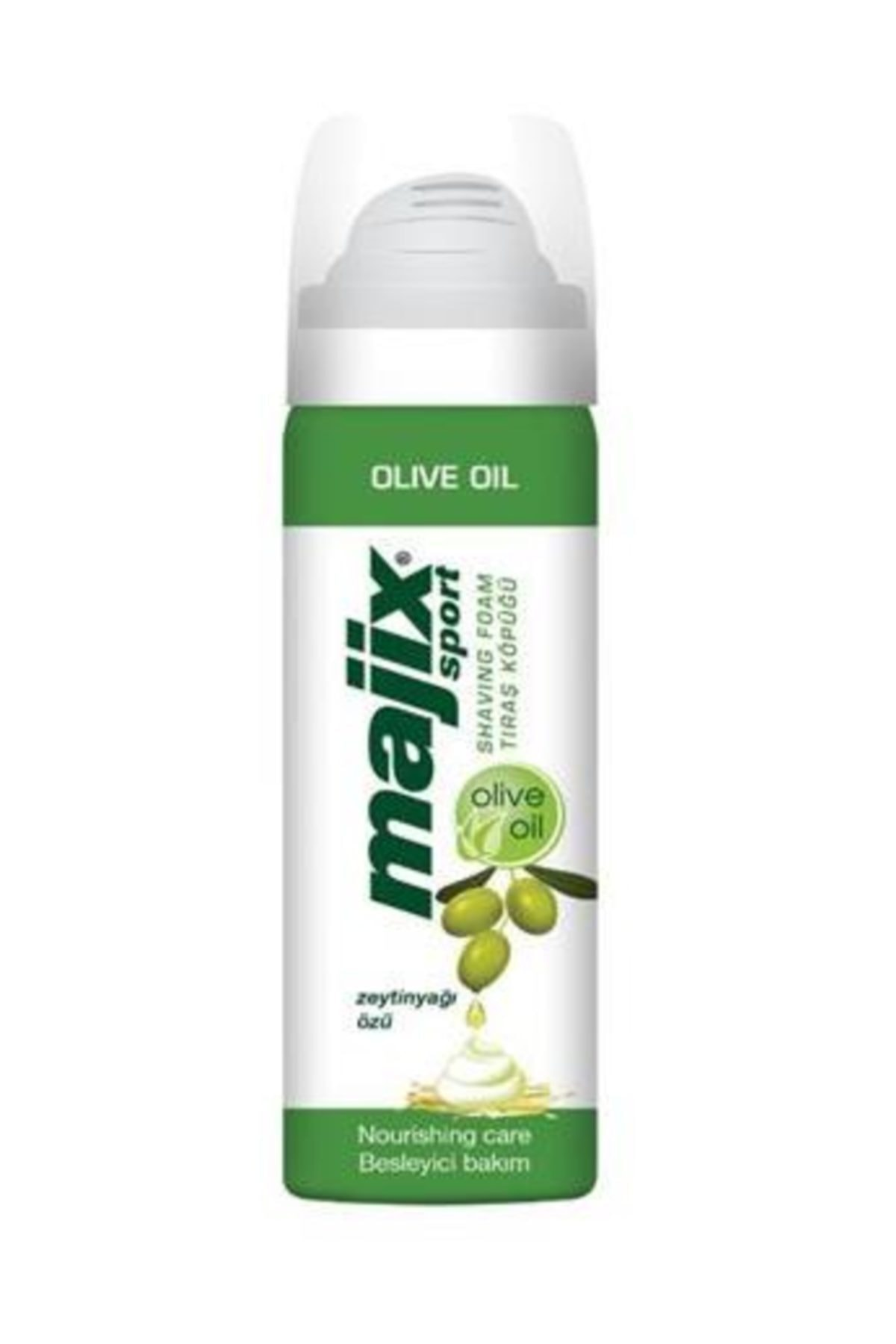 Maje Majix Sport Tıraş Köpüğü Olive Oil 200 ml. 1