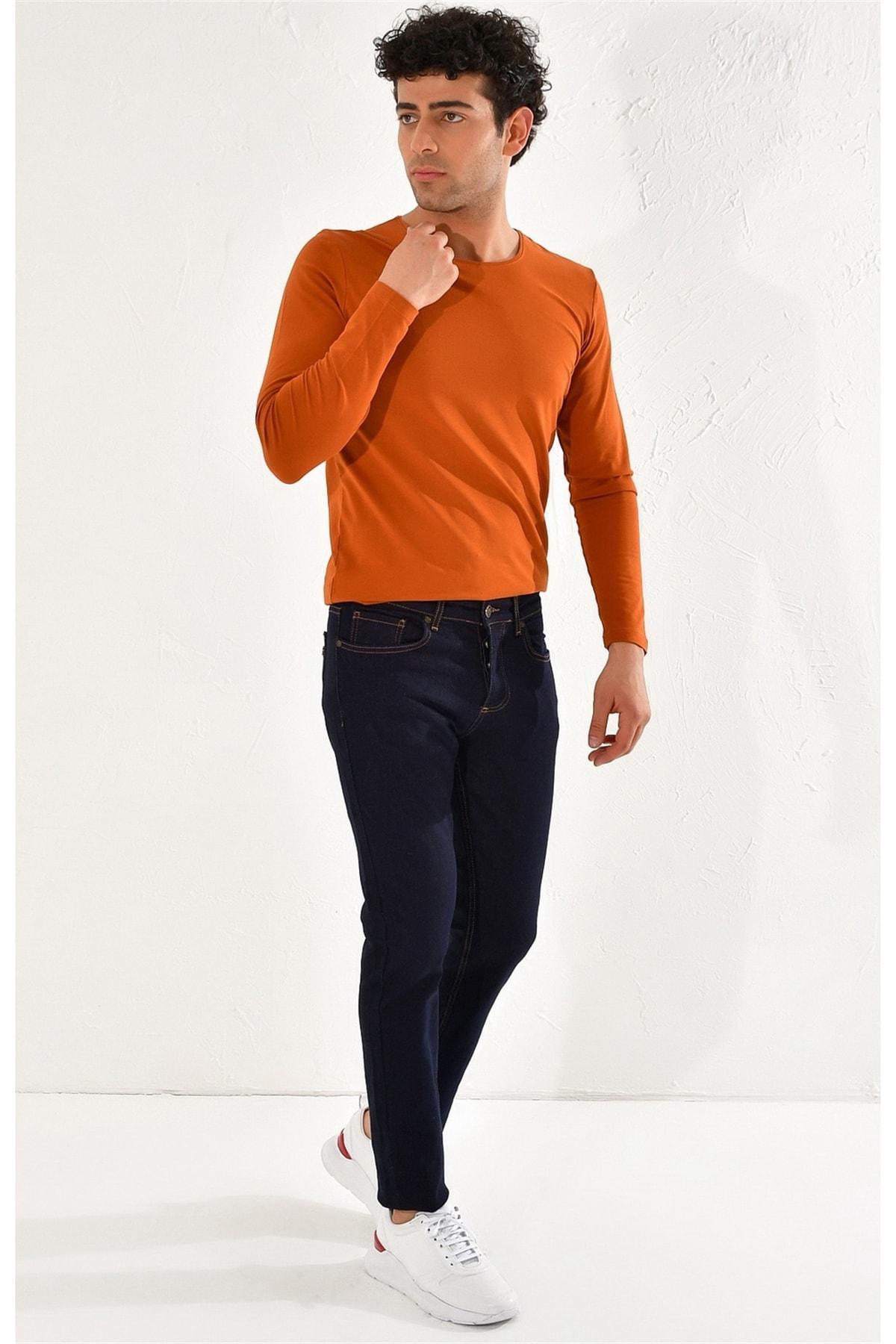 Efor 052 Slim Fit Mavi Jean Pantolon