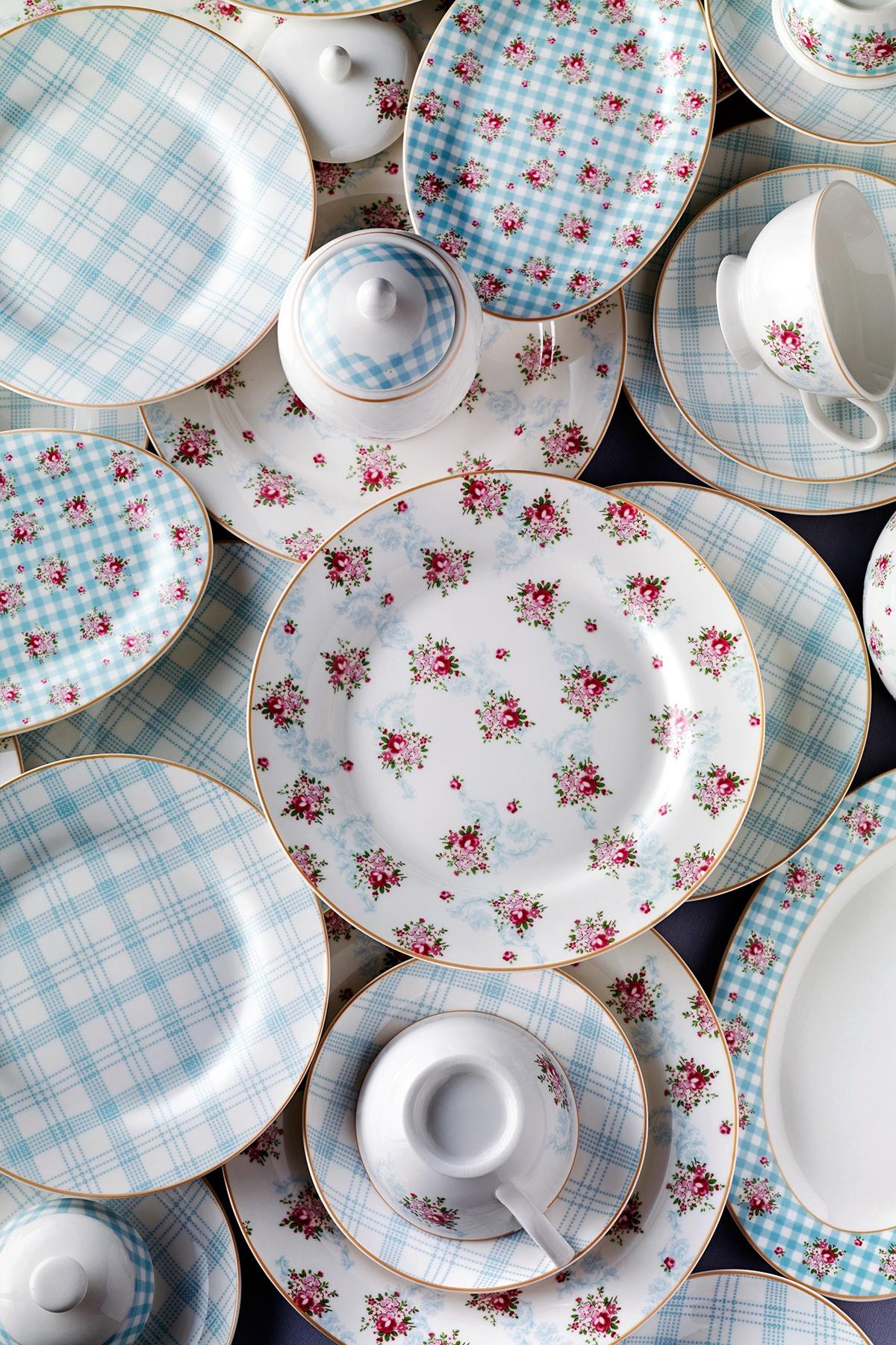 Pierre Cardin Camellia 41 Parça Kahvaltı Takımı