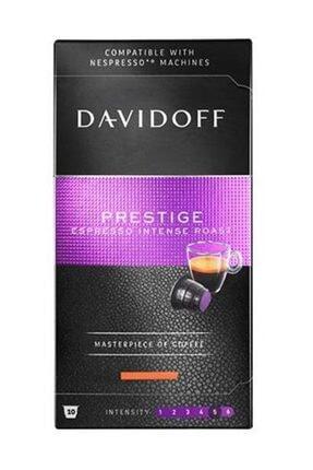 Davidoff Prestige Espresso Intense Roast Kapsül Kahve 10 Adet (nespresso Uyumlu)