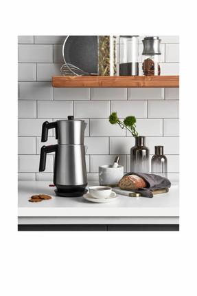 Karaca Keyfi Dem Çay Makinesi-Kettle İnox Buhar Switch Teknoloji