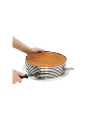 ZENKER 24-26X8 Cm Kek Ve Pasta Dilimleme Kalıbı Ve 43 Cm Pasta Bıçağı