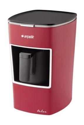 Arçelik K 3300  Mini Tevle Kahve Makinası Kırmızı