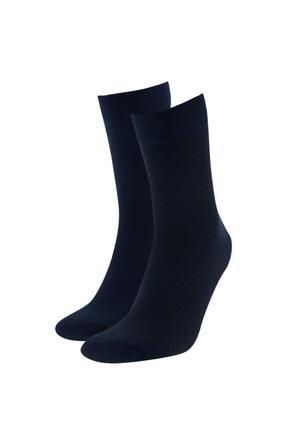 DeFacto Bambu 2'li Soket Çorap