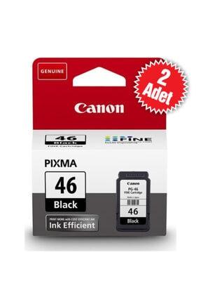 Canon Pg-46 Siyah Kartuş 2 Adet Pixma E404/e414/e464/e484