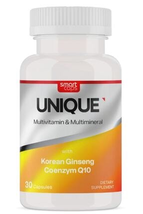 Smartcaps Unıque Multivitamin & Multimineral Ginseng Q10 30 Kapsül
