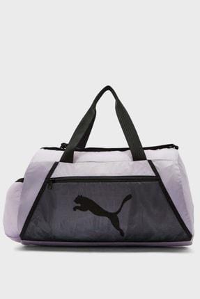 Puma Kadın Lila At Ess Barrel Bag Spor Çantası
