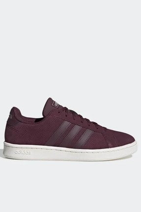 adidas Kadın Bordo Sneaker Grand Court