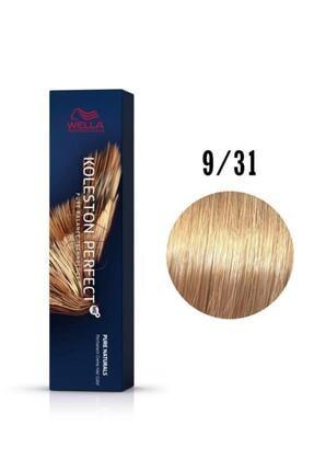Wella Koleston Perfect Me+ 9/31 Çok Açık Altın Küllü Sarı 60Ml Saç Boyası