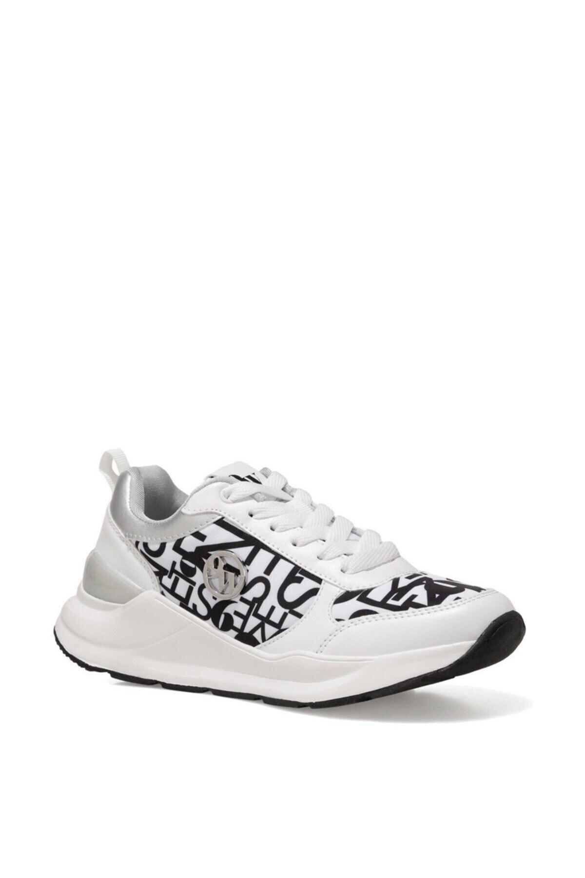 Nine West QUERLY 1FX Beyaz Kadın Sneaker Ayakkabı 101008838 2
