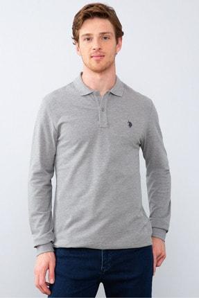U.S. Polo Assn. Grı Erkek Sweatshirt
