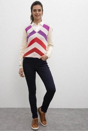 U.S. Polo Assn. Lacivert Kadın Dokuma Spor Pantolon