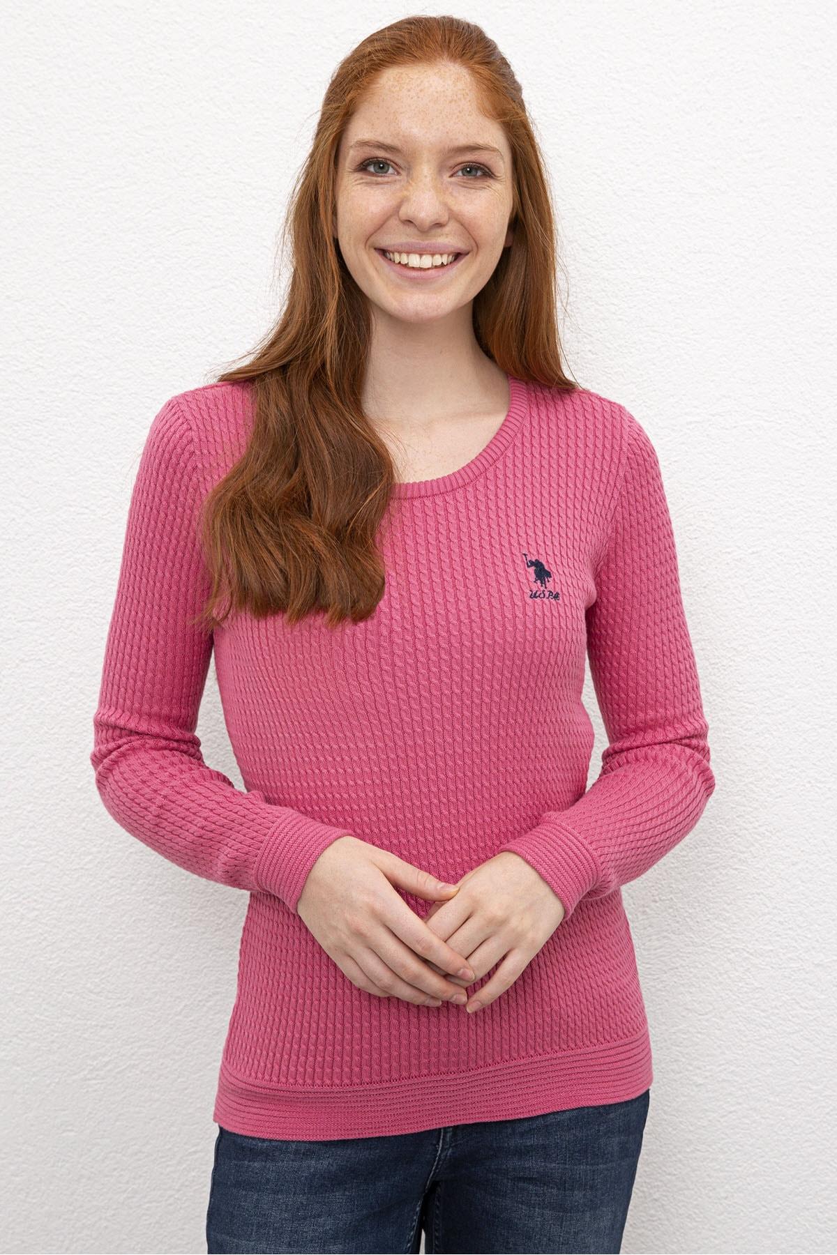 U.S. Polo Assn. Kadın Kazak G082SZ0TK.000.830092 1