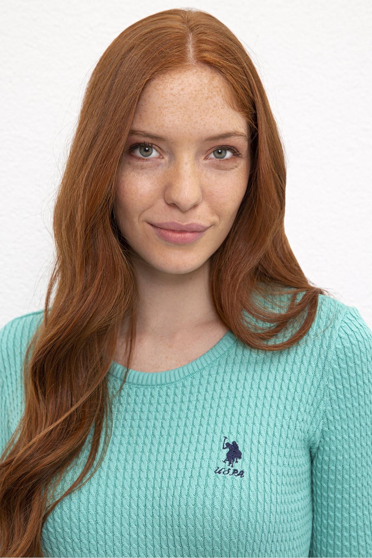 U.S. Polo Assn. Kadın Kazak G082SZ0TK.000.830092 2