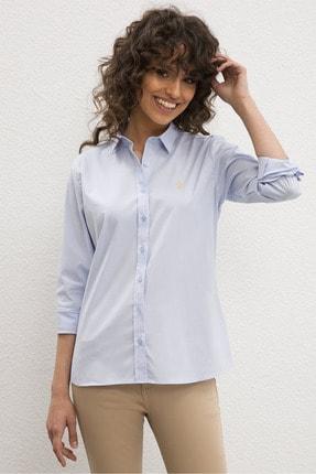 U.S. Polo Assn. Kadın Mavi Gömlek 504545331