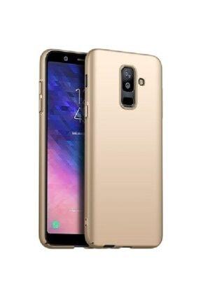 Sunix Samsung Galaxy A6 Plus 2018 Gold Silikon Kılıf