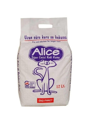 Alice Süper Emici Kedi Kumu 17lt