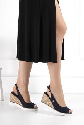 Pierre Cardin Kadın Lacivert Sandalet Pc51053