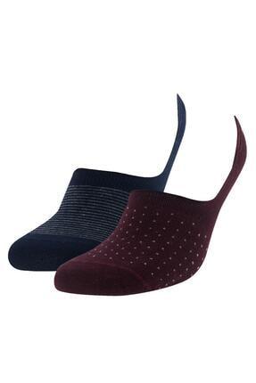 DeFacto Basic 2'li Babet Çorabı