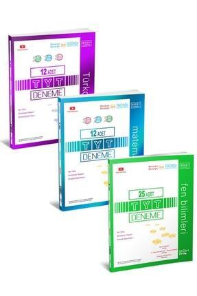 Üç Dört Beş Yayıncılık Üçdörtbeş Tyt Türkçe Matematik Fen Deneme Seti 3 Kitap 2021 Yeni