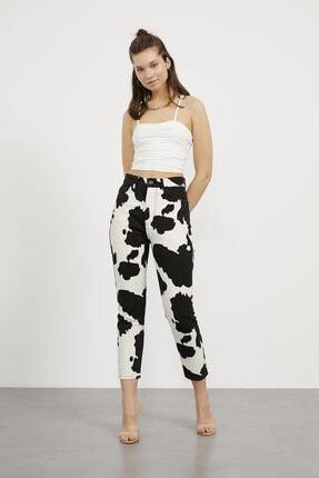 Arma Life Kadın Siyah Desenli Pantolon