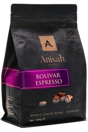 Anisah Coffee Bolivar Espresso Kavrulmuş Çekirdek Kahve 1000 g