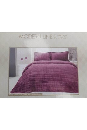 Merinos Modern Line 3 Parça Battaniye Set Yatak Örtüsü
